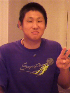 岩本選手!