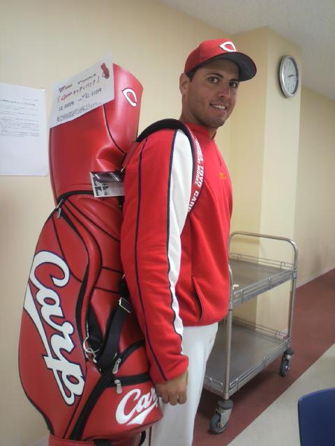 ゴルフに…