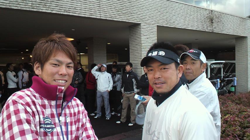 選手会ゴルフ!