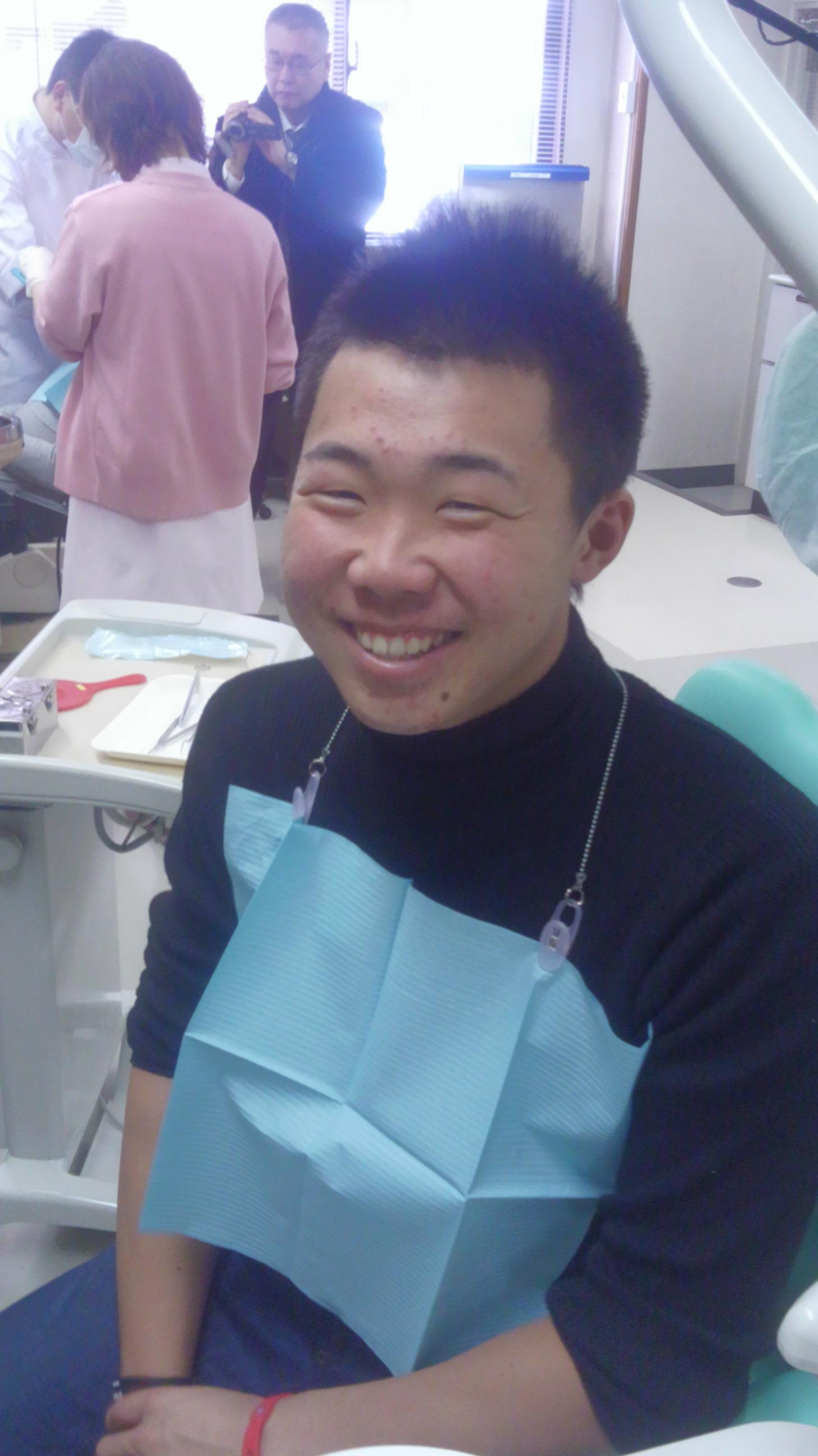 しーろい歯☆彡